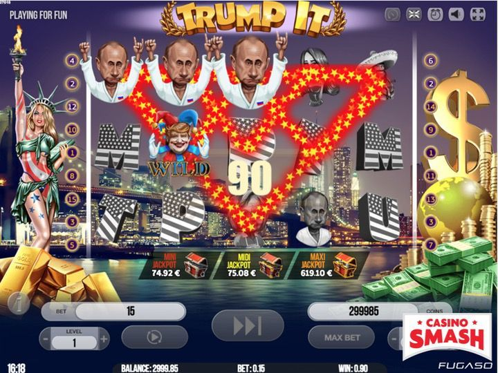 Trump It Video Slots