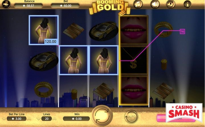 Booming Gold Slots Game Free Spin