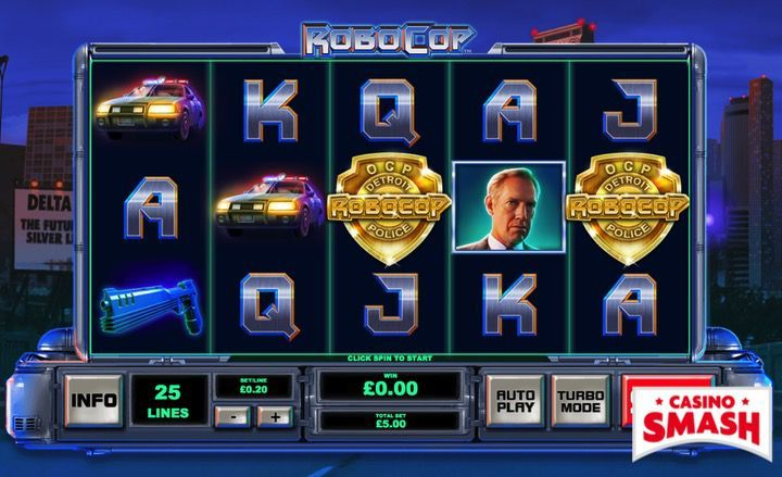 Robocop Superhero Slots Game