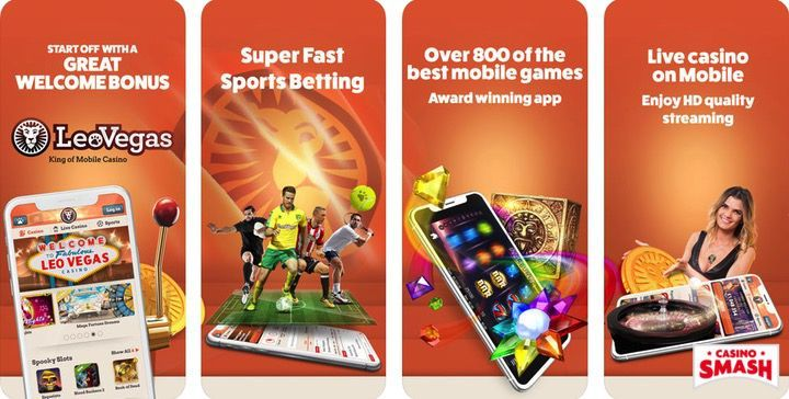 LeoVegas Slots free casino mobile app for iPhone
