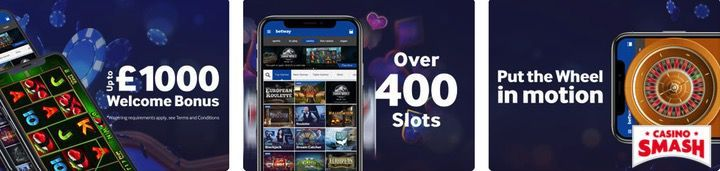 Betway free casino mobile app für iPhone