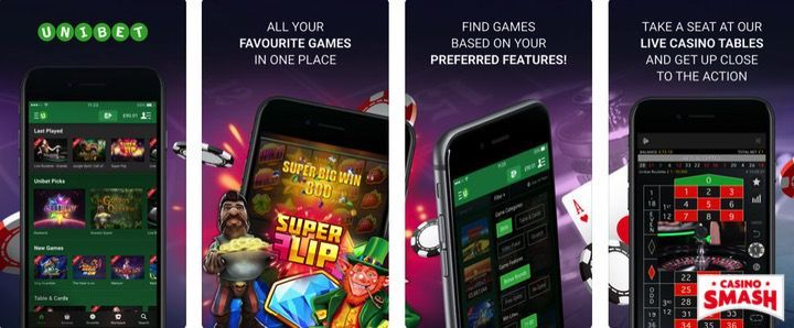 Unibet Casino free casino mobile app for iPhone