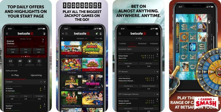 Betsafe free casino mobile app for iPhone