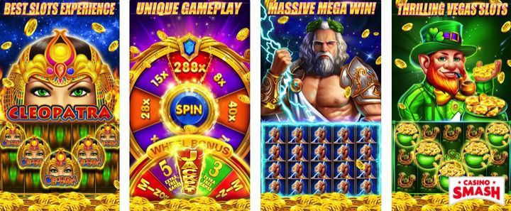HugeFun Slots mobile app for iPhone