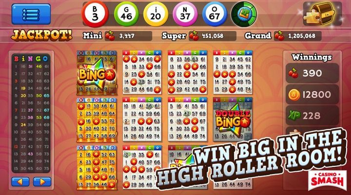 Bingo Pop Mobile App for Android