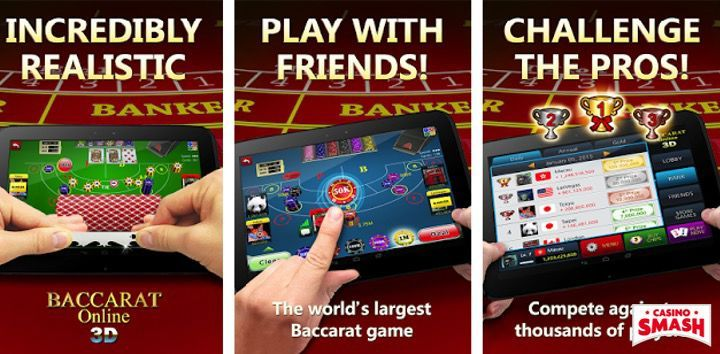 Baccarat Online 3D Mobile App for Android