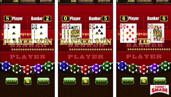 Vegas Baccarat Casino Game Mobile App for Android