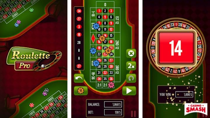 Roulette Pro Mobile App for Android