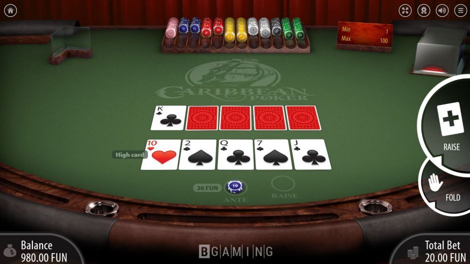 PlayAmo casino video poker game