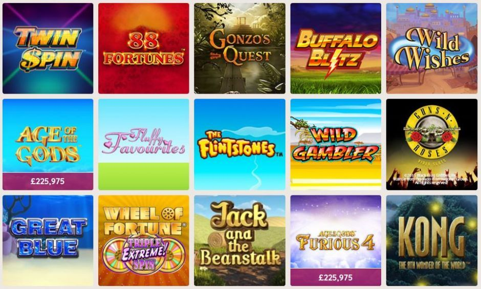 Power Spins Casino Slots