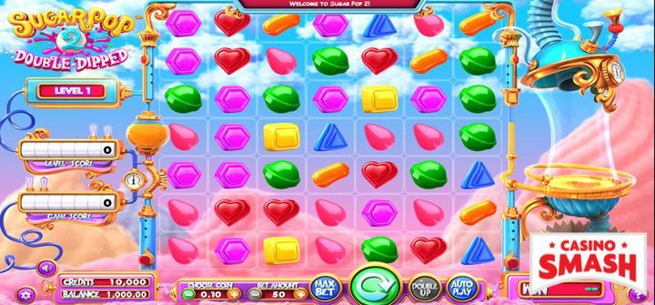 SugarPop 2 is a great free slots to play with free spins