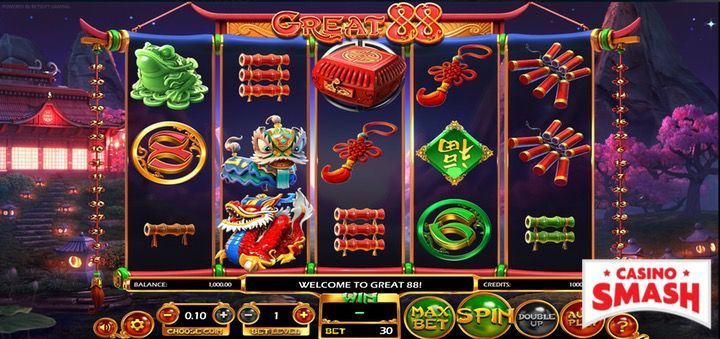 Great88 free slot machine with free spins