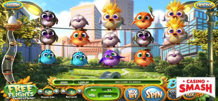 Birds free slot machine with free spins