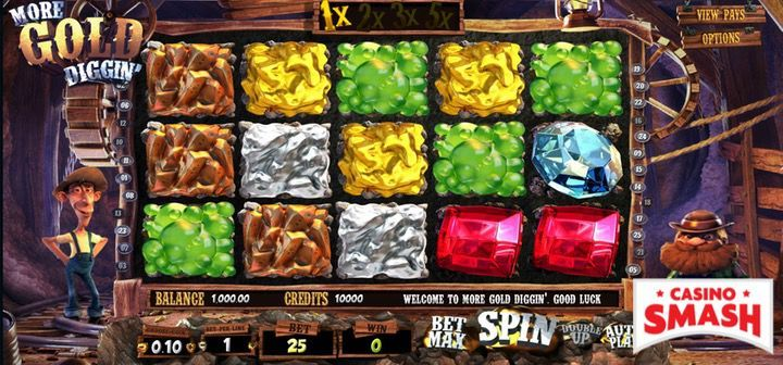 More gold diggin' slots