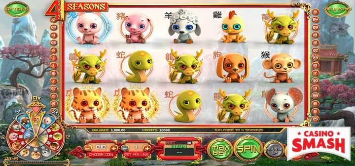 4 seasons video slot machine