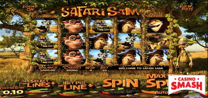 Safari Sam - Free Betsoft Slots