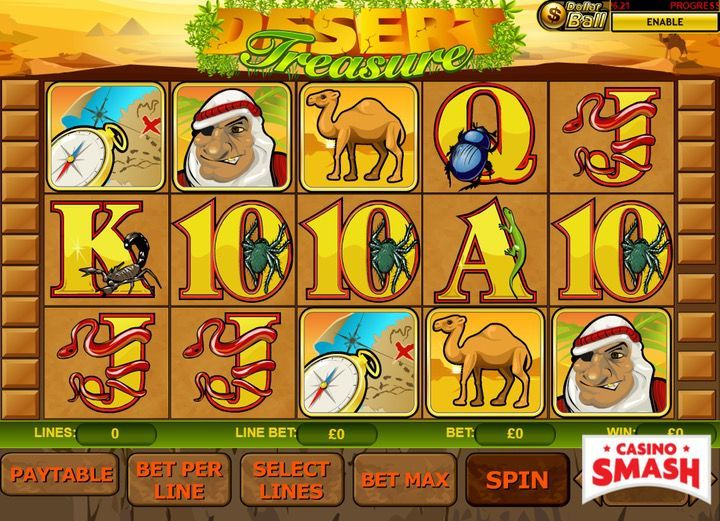 Desert Treasure Egypt Slot