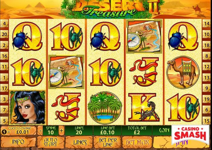 Desert Treasure 2 Egypt Slot
