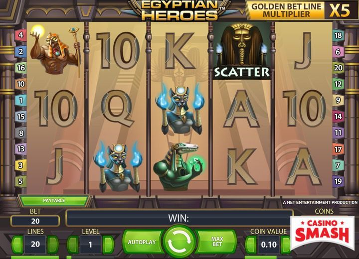 Egyptian Heroes Egypt Slot
