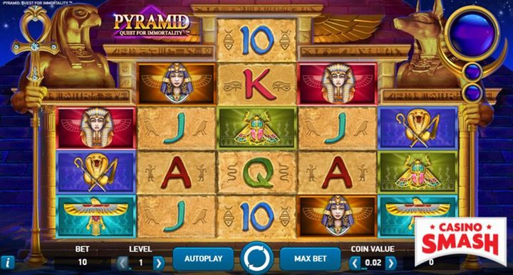 Pyramid: Quest for Immortality Egypt Slot
