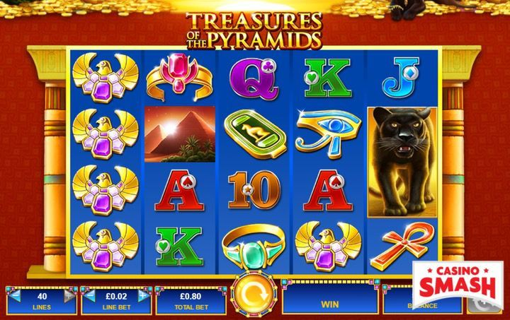 Treasures of the Pyramids Egypt Slot