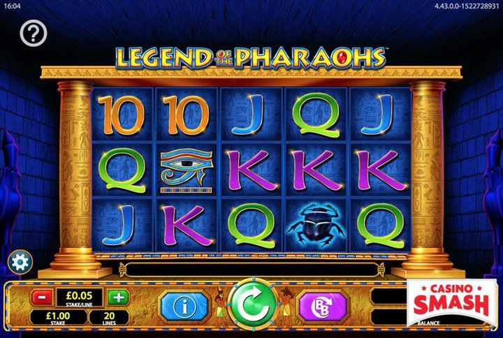 Legend of the Pharaohs Egypt Slot