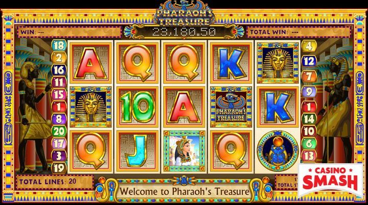 Pharaoh's Treasure Egypt Slot