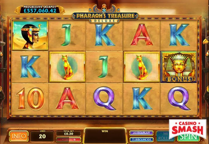 Pharaoh's Treasure Deluxe Egypt Slot