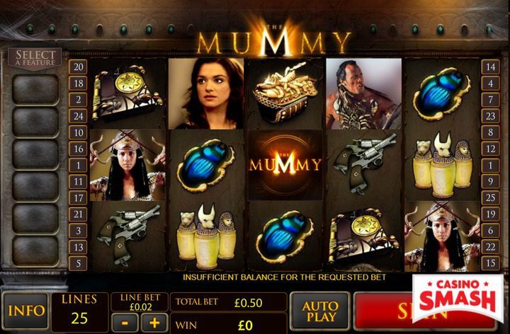 The Mummy Egypt Slot