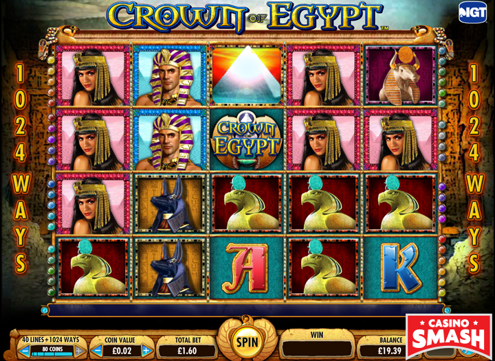 Crown of Egypt Egypt slot