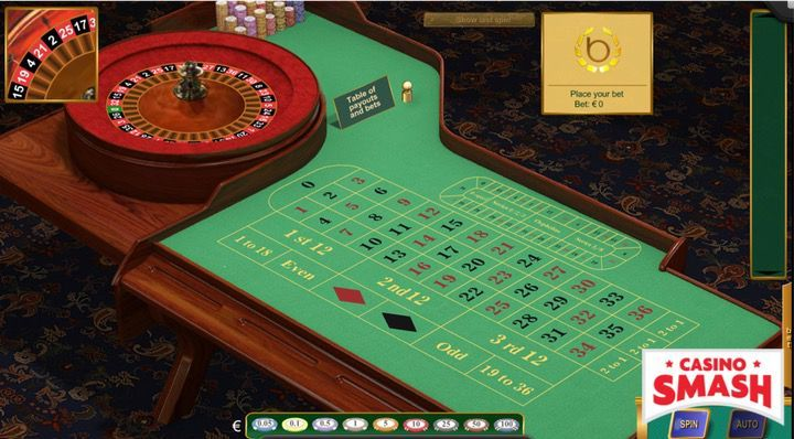 Roulette Games with no house edge: European Roulette