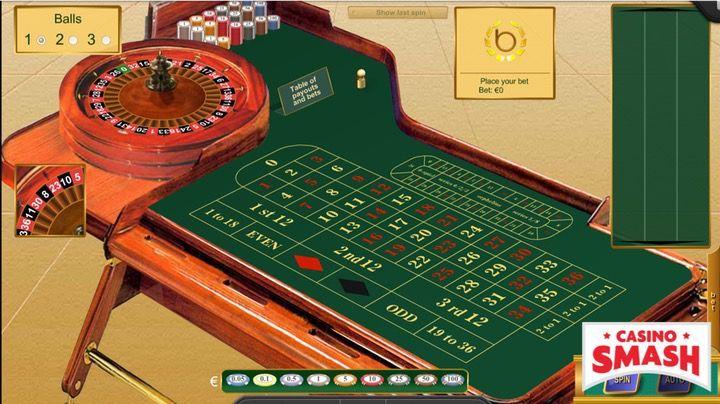 Online roulette house edge