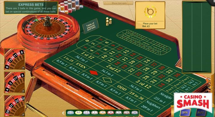 Roulette games online with the best odds: Roulette Express