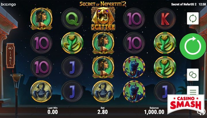Secret of Nefertiti 2 Slots