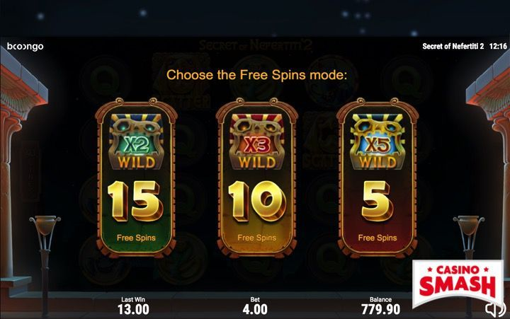 Secret of Nefertiti 2 Video Slot Machine