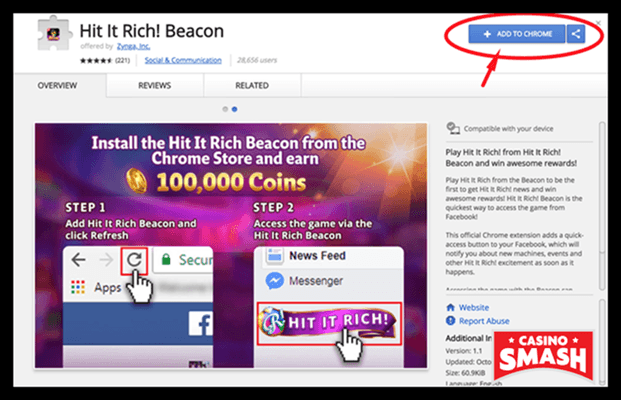 Hit It Rich Casino Step By Step Guide To Unlimited Free Coins