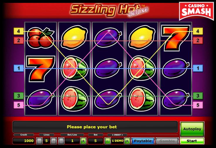 Wie funktioniert das Casino Slot Game Sizzling Hot Deluxe
