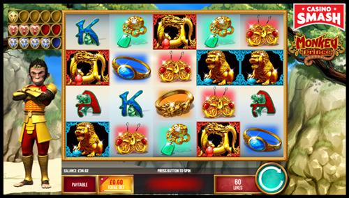 Monkey Prince beginner slots