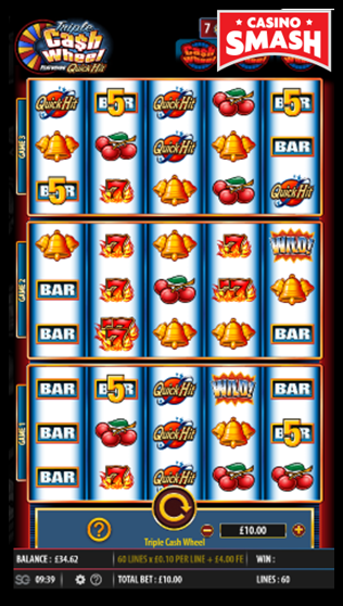 Triple Cash Wheel is a great video slots for dummies