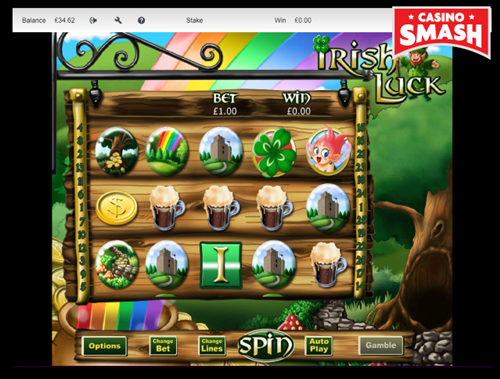 Irish Luck is a classic online slot for beginners