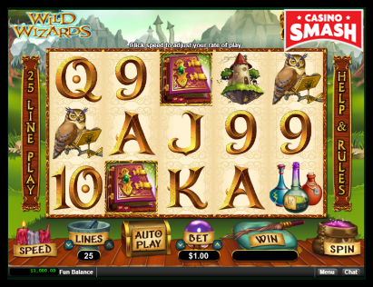 Wild Wizards Classic slots