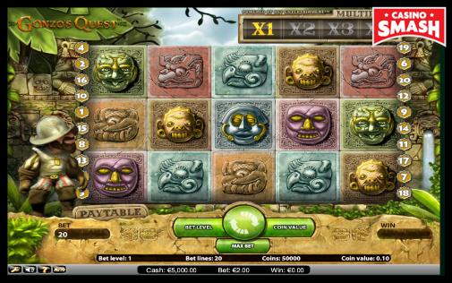 Gonzo's Quest classic slots