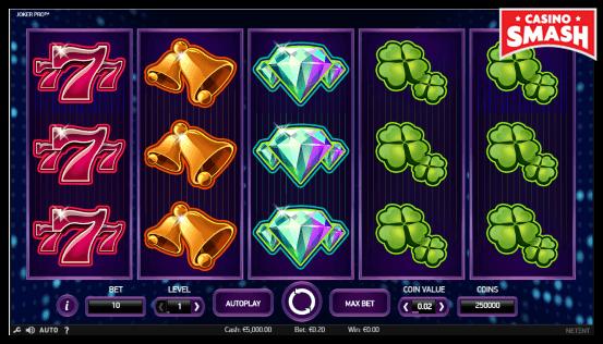 Joker Pro classic slots