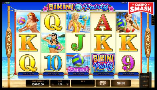 Bikini Party classic slots