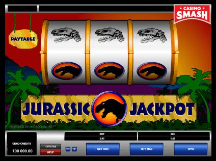 Jurassic Jackpot Vegas Classic Slot