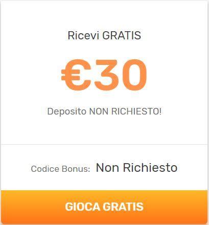 Con StarVegas hai 30 Euro di Bonus Senza Deposito