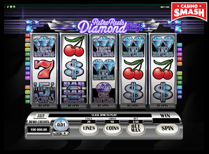 Retro Reels: Diamond Glitz netent slots