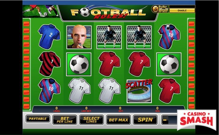 Football Rules slot machine game online