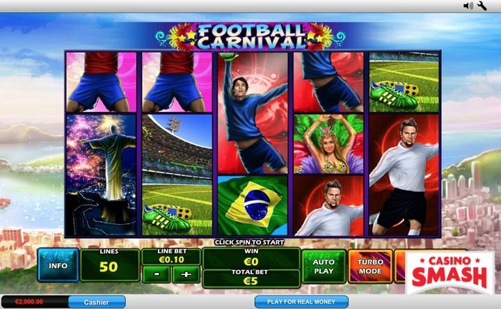 Football Carnival slot machine game online