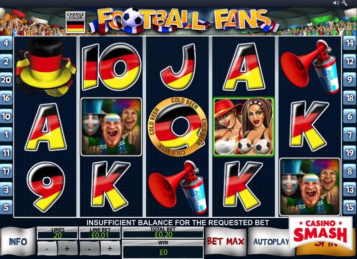 Football Fans slot machine game online